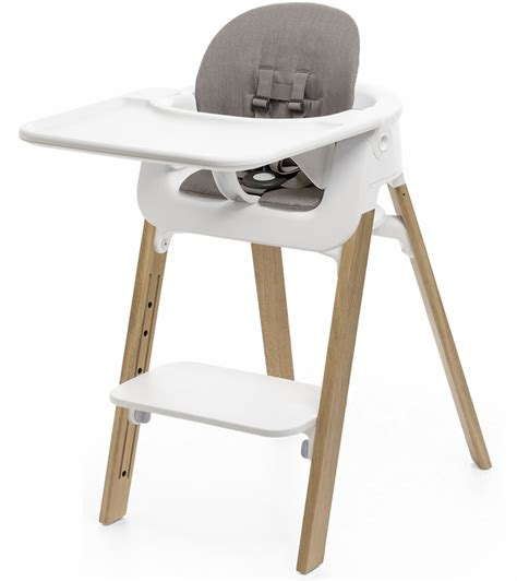 Stokke Steps High Chair by Stokke Steps Complete High Chair With Cushion White Oak
