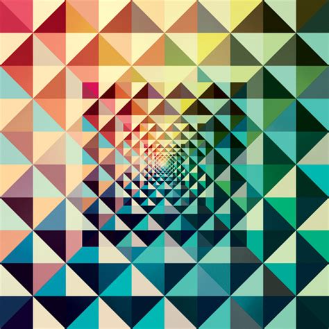 design inspiration pattern flyer goodness the colorful geometric graphic designs of