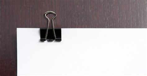 Binder Clip 5 Ukuran agenda elektronik tempat binder clip dari kardus bekas