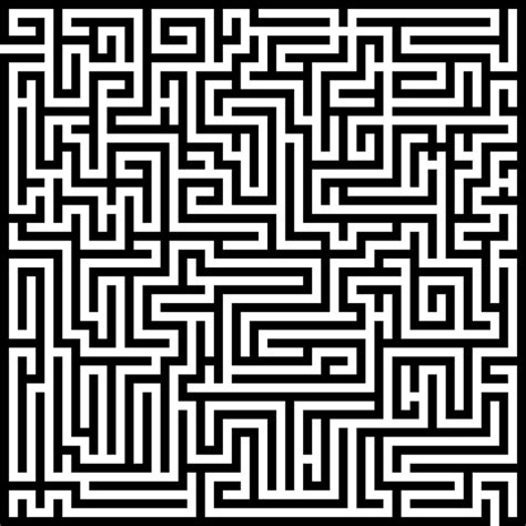 free vector graphic labyrinth maze meander free image