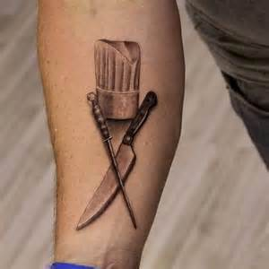 51 chef hat tattoos