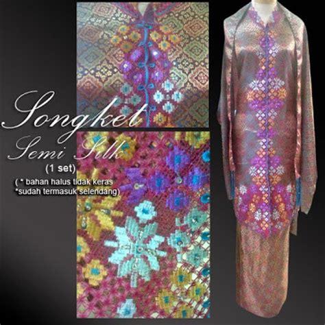 Songket Set kebaya cantik kebaya songket semi silk