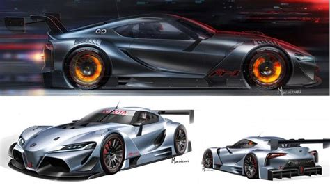 Toyota Vision Toyota Ft 1 Vision Gran Turismo Renderings By Bob