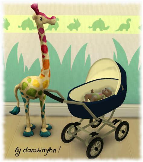 sims 4 cc baby funtioneri baby carriage by dorosimfan1 at sims marktplatz 187 sims 4