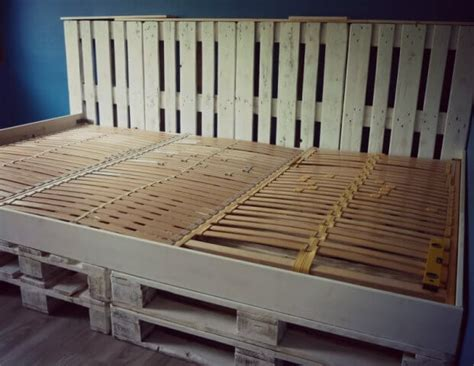 wand bett 180x200 9 steps to make your own pallet bed for 99 pallets