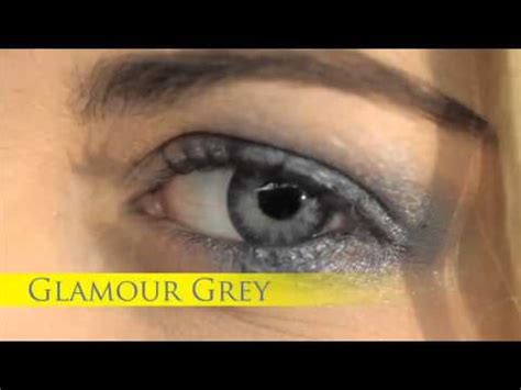 best glamour grey coloured contact lenses youtube