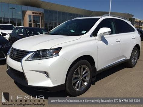 2015 lexus rx 450h hybrid awd review youtube