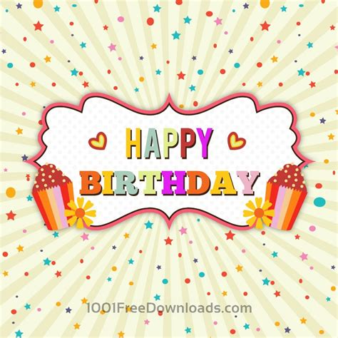 happy birthday vector free download free vectors happy birthday vector illustration backgrounds