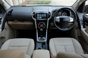 Dash Mats Isuzu Mu X India Bound 2017 Isuzu Mu X Facelift Dashboard Image