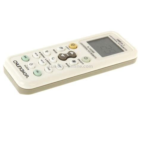 Chunghop Universal Ac Remote Controller With Flashlight White sunsky chunghop k 1028e 1000 in 1 universal a c remote