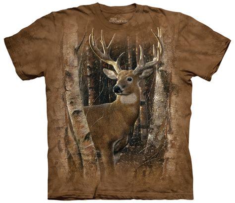 Deer T Shirt birchwood buck deer shirt usa grown cotton