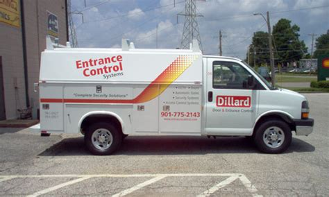 Dillard Door by A E Sign Shoppe Vinyl Lettering And Vehicle Graphics