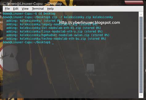 cara membuat zip di linux cara membuat file zip di linux lewat terminal cyber code