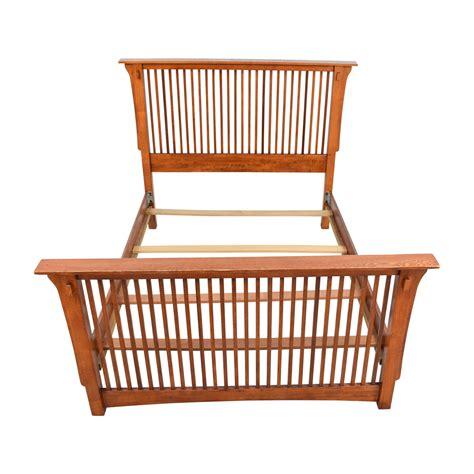 Buy Wooden Bed Frame Wood Bed Frame Bed Bed Frame Wooden Bed Wood Bed Cherry Bed Size Sabby White