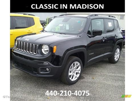 black jeep renegade 2017 black jeep renegade latitude 4x4 117391526 photo 6