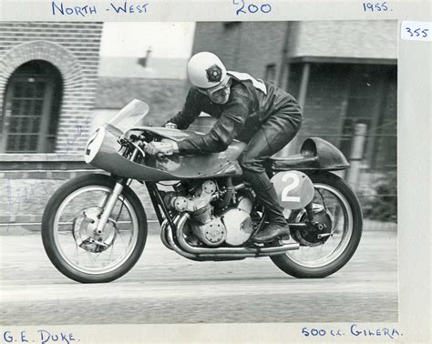 west 200 1955 geoff duke 500 gilera