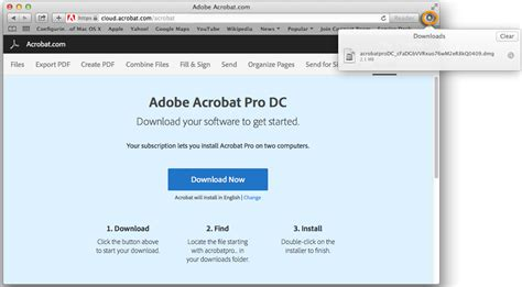 install the full version of adobe acrobat download and install acrobat dc subscription