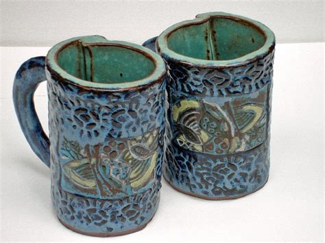 Beautiful Coffee Mugs byob clay projects offered at the art place studio