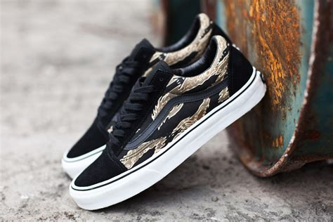 best vans shoes 2014 vans classics 2014 skool tiger camoblack 1