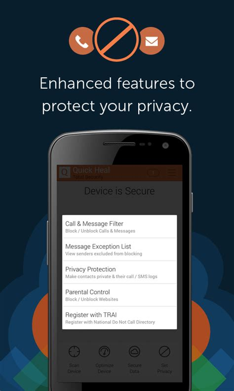 quick heal password reset for android quick heal total security android apps on google play