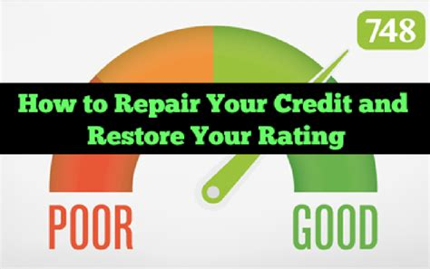 how to fix bad credit to buy a house how to repair your credit and restore your rating brokegirlrich