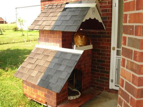 feral cat house plans modern feral cat house plans free outdoor shelter building diy luxamcc