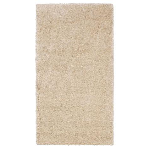 ikea teppich 197 dum alfombra pelo largo 80x150 hueso