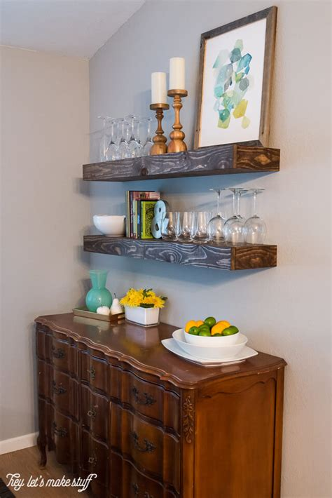 dining room shelves create dining room storage with floating shelves hey