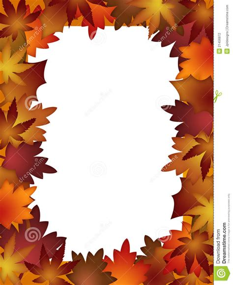 printable fall leaves border 7 best images of colorful autumn leaves printable
