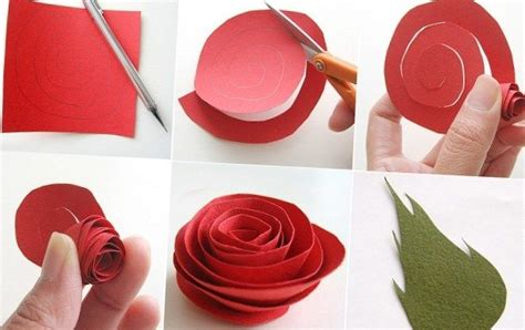How To Make Roses Out Of Paper - how to make flowers out of paper ask naij