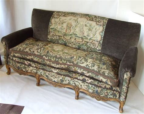 antique sofa legs antique french needlepoint sofa with exquisite detail and