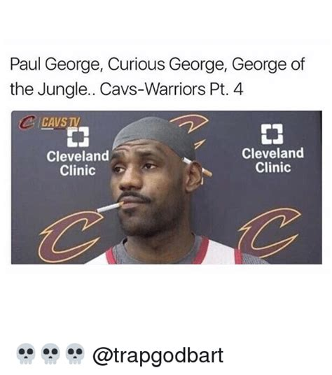 Paul George Memes - paul george curious george george of the jungle cavs