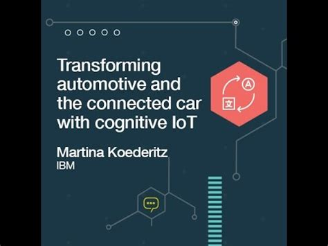 transforming automotive and the connected car with