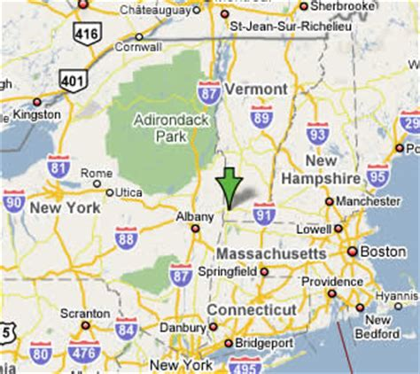 map of vermont and new york location the southwestern vermont psychology internship