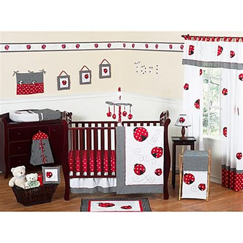 Ladybug Crib Bedding Set Sweet Jojo Designs Ladybug 11 Crib Bedding Set Buybuy Baby