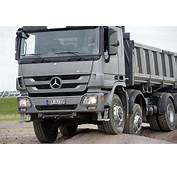 New Mercedes Benz Actros Details And Official Photos