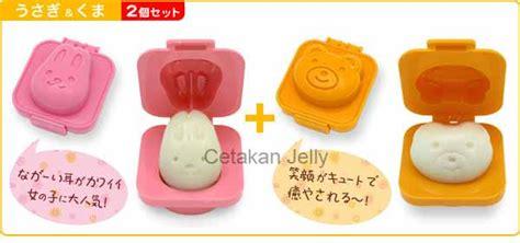 cetakan telur beruang kelinci cetakan jelly cetakan jelly