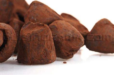 recette des truffes au chocolat noir