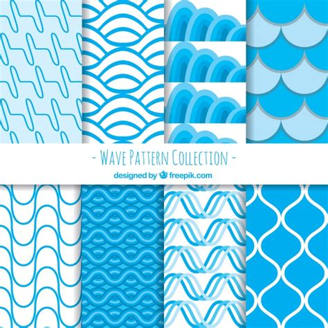wave pattern vector ai pack of abstract wave patterns vector free download