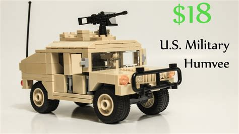 Lego Us Humvee Timelapse Review