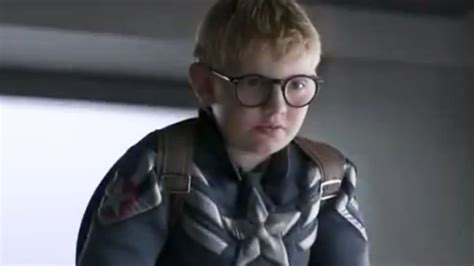 Captain America Kid captain america trailer remade with children