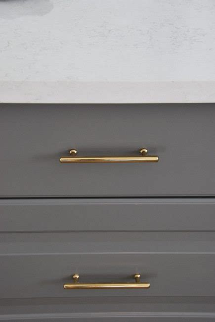 Gray Kitchen Ideas by How To Choose And Install Gold Hardware Pulls In Your
