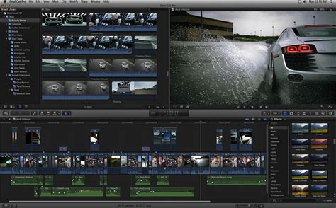 X Pro resolution screenshots of cut pro x and the