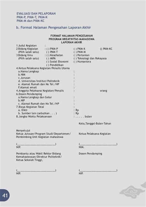 format pkm gt pedoman pkm 2011
