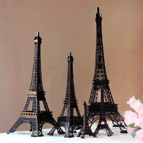 Eiffel Tower Home Decor by 25cm Height Cool Black Eiffel Tower Souvenirs Model