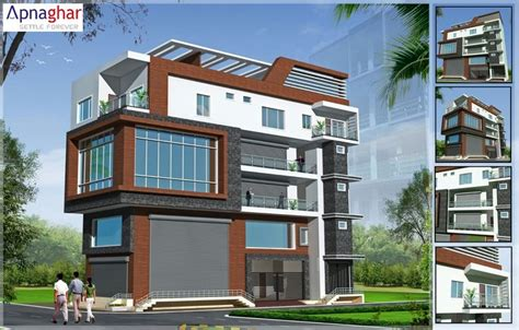 expert design builders planning to build commercial plus residential building