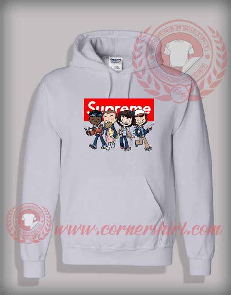 design toddler hoodie custom design stranger things kids supreme hoodie