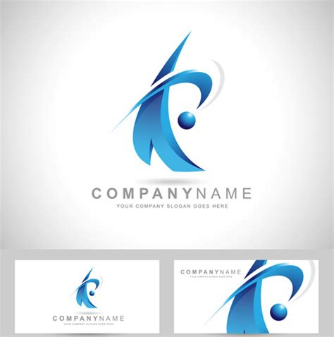 vector design logo free download original design logos with business cards vector free
