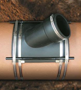 fernco sewer main flexible tap saddle | fernco us