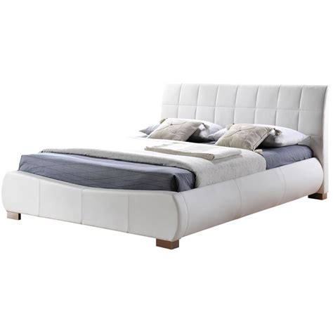 Leather Bed Frame Home Decorating Pictures Bed Frame Leather